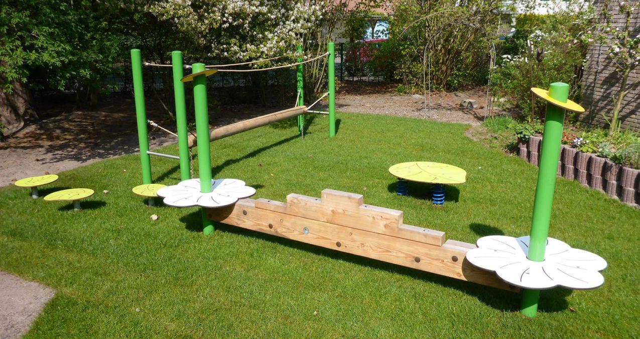 Spielplatzbau-Kindergarten