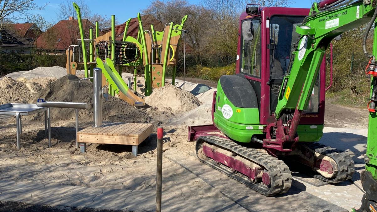 Garten- und Landschaftsbau Spielplatzbau-Sanddornweg