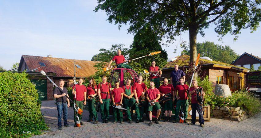 Unser Braukmann Gartenlandschafts - und Baumpflegeteam
